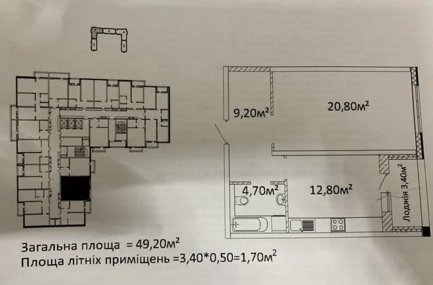 продажа однокомнатной квартиры номер A-156871 в Приморском районе, фото номер 4